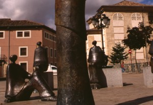 Monument to the university in Palencia, in remembrance of Spain's first university © Turespaña